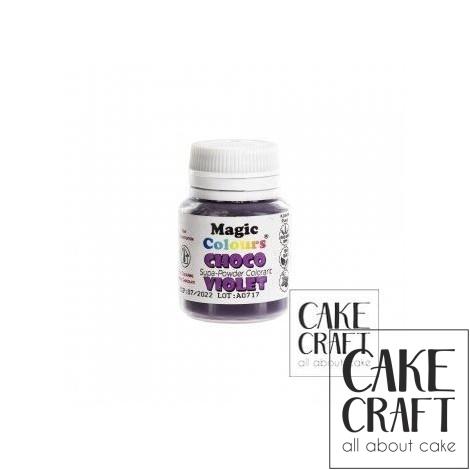 Βρώσιμα Χρώματα Σοκολάτας σε σκόνη της Magic Colours - Βιολετί