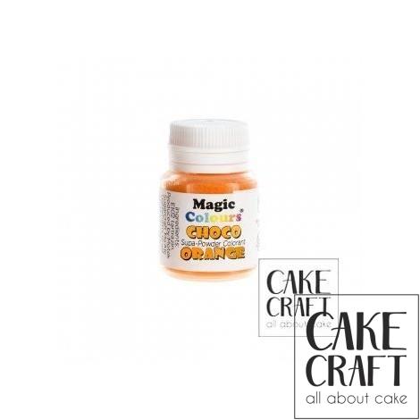 Βρώσιμα Χρώματα Σοκολάτας σε σκόνη της Magic Colours - Πορτοκαλί
