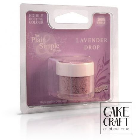 Χρώμα σε Σκόνη Rainbow Dust - Μώβ της Λεβάντας Rainbow Dust - (Lavender Drop)