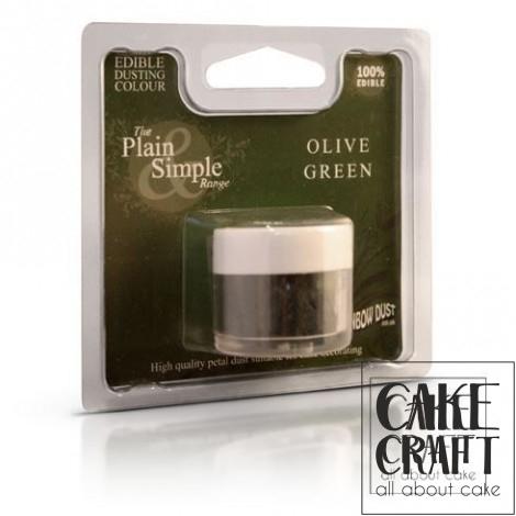 Χρώμα σε Σκόνη Rainbow Dust - Πράσινο της Ελιάς Rainbow Dust - (Olive Green)
