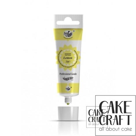 ProGel Κίτρινο Λεμονί Rainbow Dust - (ProGel Lemon)
