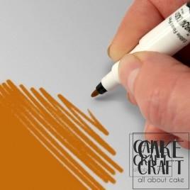 Διπλός Μαρκαδόρος Τροφίμων Rainbow Dust - Έντονο Χρυσό Rainbow Dust - (Food Pen Bright Gold)