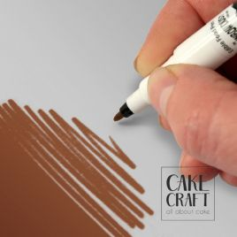 Διπλός Μαρκαδόρος Τροφίμων Rainbow Dust - Σοκολατί Rainbow Dust - (Food Pen Chocolate)