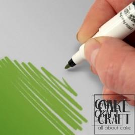 Διπλός Μαρκαδόρος Τροφίμων Rainbow Dust - Πράσινο των Φύλλων Rainbow Dust - (Food Pen Leaf Green)