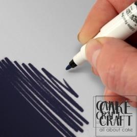 Διπλός Μαρκαδόρος Τροφίμων Rainbow Dust - Μπλέ του Ναυτικού Rainbow Dust - (Food Pen Navy Blue)