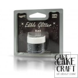 Βρώσιμο Γκλίτερ Rainbow Dust - Μαύρο Rainbow Dust - (Glitter Black)