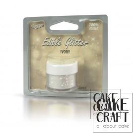 Βρώσιμο Γκλίτερ Rainbow Dust - Ιβουάρ Rainbow Dust - (Glitter Ivory)