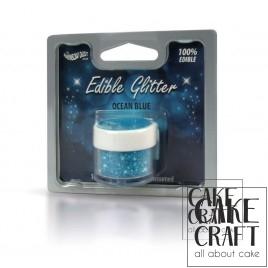 Βρώσιμο Γκλίτερ Rainbow Dust - Μπλέ του Ωκεανού Rainbow Dust - (Glitter Ocean Blue)