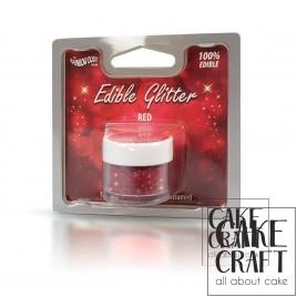 Βρώσιμο Γκλίτερ Rainbow Dust - Κόκκινο Rainbow Dust - (Glitter Red)