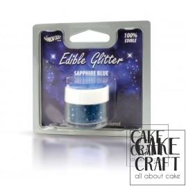 Βρώσιμο Γκλίτερ Rainbow Dust - Μπλέ του Ζαφειριού Rainbow Dust - (Glitter Sapphire Blue)