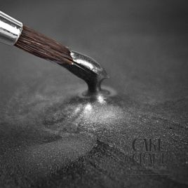 Ασημί Σκούρο Μεταλλικό Rainbow Dust - (Metallic Dark Silver)