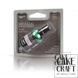 Πράσινο Μεταλλικό των Χριστουγέννων Rainbow Dust - (Metallic Holly Green)