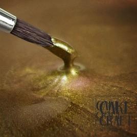 Χρυσό Ανοιχτό Μεταλλικό Rainbow Dust - (Metallic Light Gold)