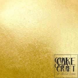 Μεταλλικό Χρυσό του Θησαυρού (Edible Silk – Metallic Gold Treasure)