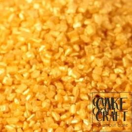 Sprinkles Κρυσταλλικής Ζάχαρης Rainbow Dust - Χρυσό Μεταλλικό Rainbow Dust - ( CrystalsRainbow Dust - Metallic Gold)