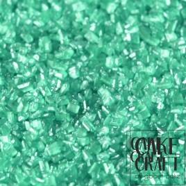 Sprinkles Κρυσταλλικής Ζάχαρης Rainbow Dust - Ιριδίζων Τυρκουάζ Rainbow Dust - (Pearlescent Turquoise)