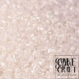 Sprinkles Κρυσταλλικής Ζάχαρης Rainbow Dust - Ιριδίζων Λευκό Rainbow Dust - (Pearlescent White)
