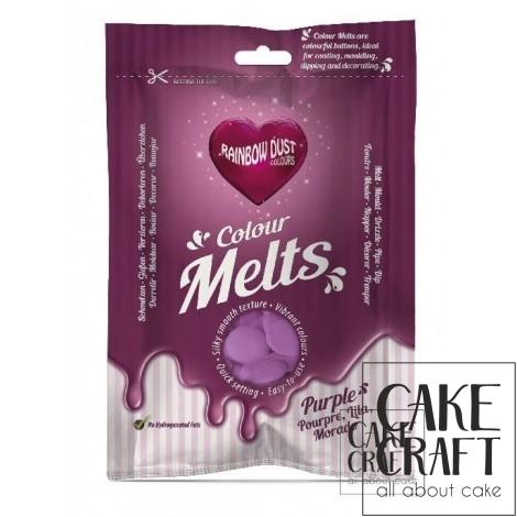 Candy Melts Μωβ 250γρ. της Rainbow Dust