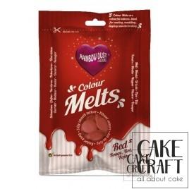 Candy Melts Κόκκινο 250γρ. της Rainbow Dust