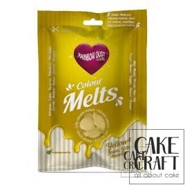 Candy Melts Κίτρινο 250γρ. της Rainbow Dust