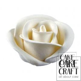 Τριαντάφυλλα Μεγάλα 5,5cm Λευκό