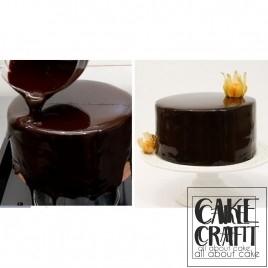 Γλασο Καθρέπτης φρούτων γεύση-χρώμα Σοκολάτα 1κ. Choco Mirror Glaze