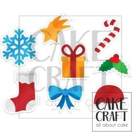 Φύλλο ζαχαρόπαστας Χριστούγεννα 1010