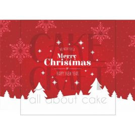 Φύλλο ζαχαρόπαστας Πλακέτα τούρτας 1022
