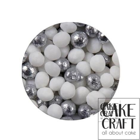 SugarCraft Κας-Κας Λευκό - Ασημί 50g
