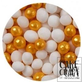 SugarCraft Κας-Κας Λευκό - Χρυσό 100g