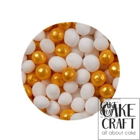 SugarCraft Κας-Κας Λευκό - Χρυσό 50g