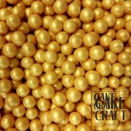 SugarCraft Πέρλες Μεταλλιζέ Χρυσό 5χιλ 90γρ