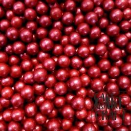 SugarCraft Πέρλες Μεταλλιζέ Μπορντώ 5χιλ 90γρ