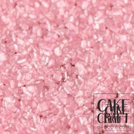 SugarCraft Κρυσταλλική Ζάχαρη Ροζ Μεταλλικό 50g