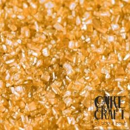 SugarCraft Κρυσταλλική Ζάχαρη Πορτοκαλί Μεταλλικό 50g