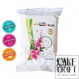 Ζαχαρόπαστα Smartflex Λουλουδιών Λευκή 250 g