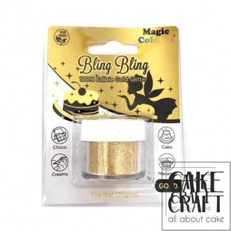 Βρώσιμο Γκλίτερ Χρυσό Magic Colours - (Glitter Gold)