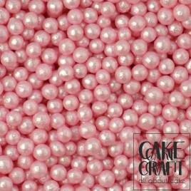 SugarCraft Πέρλες Μεταλλιζέ Ροζ 5χιλ 90γρ