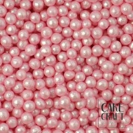 SugarCraft Πέρλες Μεταλλιζέ Ροζ 5χιλ 45γρ