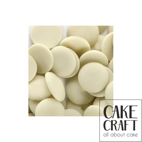 Σοκολάτα Κουβερτούρα Λευκή White Miravet 1Kg