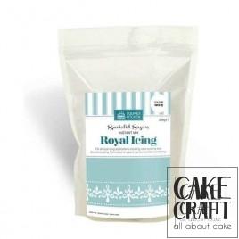 Μείγμα Αυγόγλασο Λευκό Squires Royal icing 500g