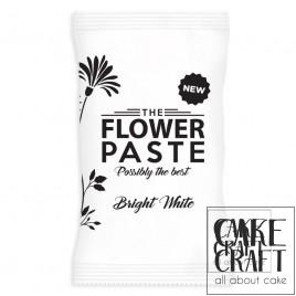 Ζαχαρόπαστα Λευκή Μοντελισμού - Λουλουδιών THE FLOWER PASTE 1Kg