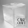 Κουτί Διάφανο Τετράγωνο PVC 10x10x12Y cm