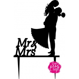 Topper Mr & Mrs 3 Μαύρο