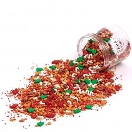 HAPPY SPRINKLES Santa's Favourite Sprinkles 90gr