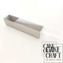 Κουτί Χάρτινο Γκρι για 10 Macaron