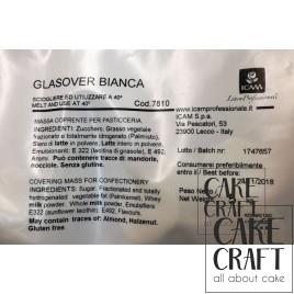 Σοκολάτα επικάλυψης Λευκή ICAM 5 Kg