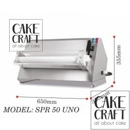 Μηχανή παραγωγής φύλλου ζαχαρόπαστας 30εκ
