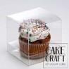Κουτί διάφανο για 1 Cupcakes 8x10Y cm