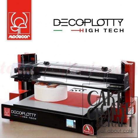 Βρώσιμος εκτυπωτής plotter Decoplotty